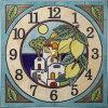 陶器の温かさとイタリアンアートに溢れる魅力!アントニオ・ザッカレラ陶器置き掛け兼用時計ZC915-004