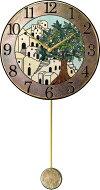 陶器の温かさとイタリアンアートに溢れる魅力!アントニオ・ザッカレラAntonioZaccarella陶器振り子時計ZC945-005名入れ