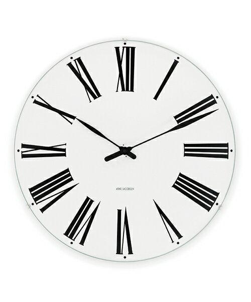 アルネ・ヤコブセン掛け時計  ARNE JACOBSEN Wall Clock ローマンクロック  160mm 43622 壁掛け時計 ROSENDAHL