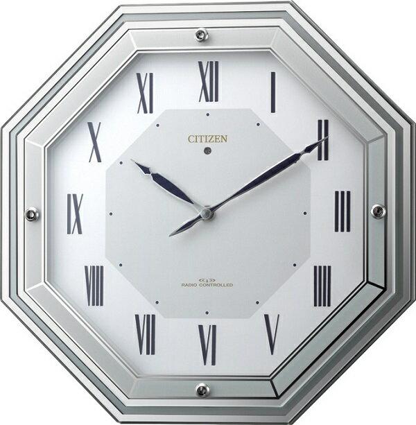 シチズン掛け時計 電波掛け時計4MY836-005 サイレントソーラールーチェ シチズン時計 CITIZEN掛け時計 名入れ:インテリア雑貨 セシセラ