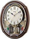 文字盤が開きます!からくり時計スモールワールドアルディ4MN545RH23リズム時計