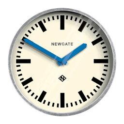 レトロなステーションクロック Galvanised Wall Clock Blue Hands NEW GATE ニューゲート掛け時計 LGWC-BH ニューゲート時計【楽ギフ_包装】【楽ギフ_のし】【楽ギフ_のし宛書】【楽ギフ_メッセ入力】【楽ギフ_名入れ】
