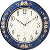象嵌細工が美しい!RHG-M107インタルシア掛け時計リズムハイグレード壁掛け時計8MY471HG04