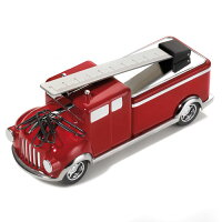 消防車型ペーパーウエイト&クリップホルダーファイヤーTROIKA