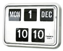 TWEMCOトゥエンコ 見やすく優れた信頼性!TWEMCOトゥエンコ カレンダー時計  BQ-17ホワイト 掛け時計