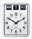 TWEMCOトゥエンコ 見やすく優れた信頼性TWEMCO トゥエンコ カレンダー電波時計 RC-12Aホワイト 掛け時計