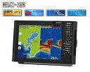 HONDEX (ホンデックス) HDX-12S 2kW GPS外付仕様 デプスマッピング機能搭載 アンテナ内蔵 12.1型 プロッター デジタル 魚探