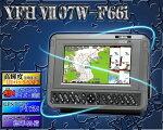 7型ワイドGPSプロッタ魚探YAMAHA(ヤマハ)YFHVII-07W-F66i【魚群探知機/GPS魚探/GPS魚群探知機】yfhvi07
