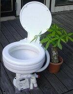 電動マリントイレ12V&24V★TMC社製★とても便利な電動トイレ