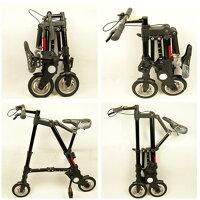 【送料無料】コンパクト折畳8インチ自転車折りたたみ8インチ自転車