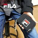 財布 FILA 刺繍 フィラ 小学生 中学生 高校生 布製 コイルストラップ付き 二つ折り財布 fl...