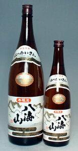 冷やでも燗でも、安心して飲める酒です【新潟の定番酒と言えばコレ!】八海山 本醸造 720ml【...