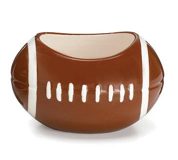 ペン立て アメリカンフットボール(陶磁器)