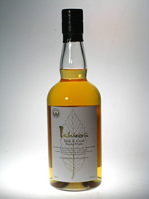 ICHIRO'S Malt and Grain  Blended Whisky WHITE LABEL 46% 70 cl CHICHIBU Distillery by Venture Whisky