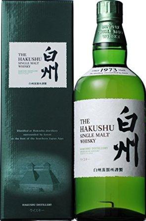 HAKUSHU single malt whisky No Age Statemant 43% 70cl by Suntory LTD.