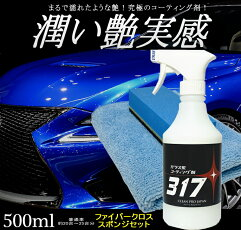 コーティング剤車(500mlクロスセット)ガラス系コーティング剤コーティング剤車撥水ガラスコーティング車バイク洗車