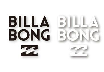 BILLABONG/ロゴ/ステッカ−/S-15/全2カラー