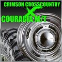 【店内全商品2倍】CRIMSON CROSS COUTRY 16x8J+0 139.7x6穴 グレイ クリムソン クロスカントリー&ジムニー タイヤ 205/80R16 FEDERAL COURAGIA M/T クーラジア MT