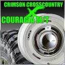 CRIMSON CROSS COUTRY 16x6.5J+15 114.3x5穴/127x5穴 ホワイト クリムソン クロスカントリー&ジムニー タイヤ 205/80R16 FEDERAL COURAGIA M/T クーラジア MT
