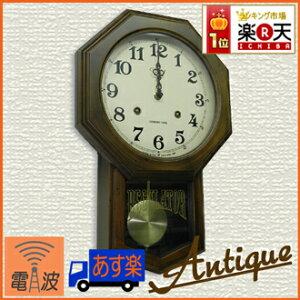 祖父母の家にあったようなレトロな時計。和風なデザインが心を癒します。 /電波時計/掛け時計/...