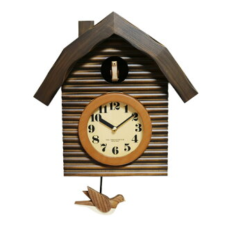 Made of Japan's domestically produced hand-made cuckoo clock Brown 05P28oct13's