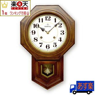 ≪楽天ランキング受賞≫日本製 八角 ボンボン時計