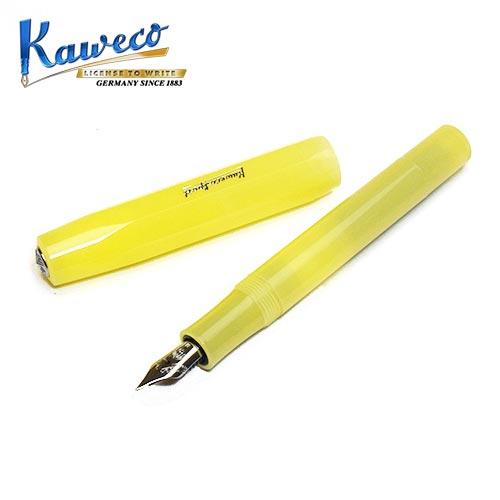 筆記具, 万年筆  Kaweco Frosted Sport Fountain Pen - Sweet banana Freiheit
