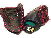 ハイゴールド特注品軟式ファーストミット野球用品1塁手用ブラックもあり
