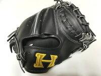 ハイゴールド限定特注硬式キャッチャーミット学生野球高校野球対応耐久性抜群野球用品/グローブ