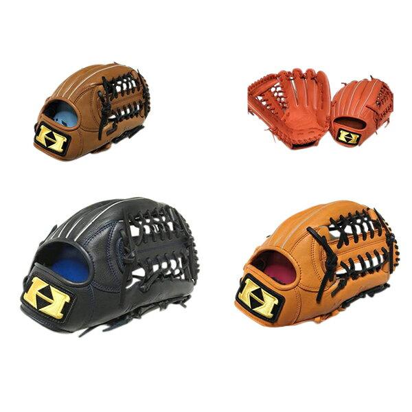 希少グラブハイゴールド野球グローブカタログ外軟式野球とソフトボール3号球兼用オールラウンドグローブ左投げもあり野球用品