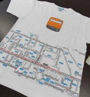 鉄道ファン必見TシャツJR西日本管内の1222の駅名と路線名JR西日本商品化許諾済