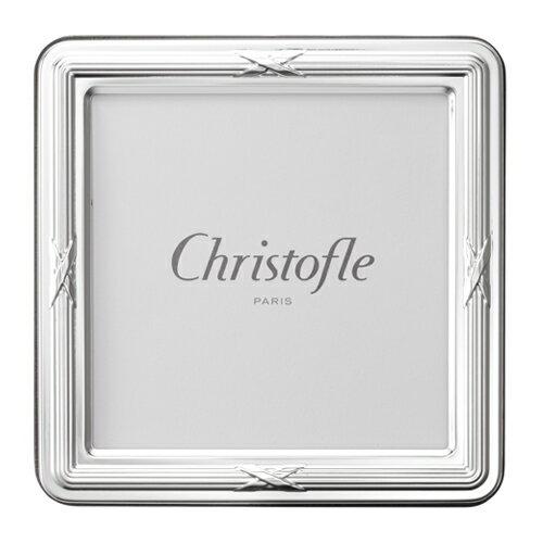 Christofle (クリストフル) フォトフレーム Rubans(リュバン) 9×9cm ギフト