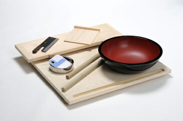 国産 手打ちそば道具セット 蕎楽(きょうらく) ※代引き不可
