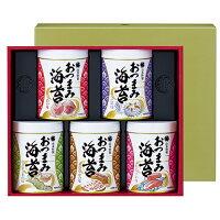山本海苔店 おつまみ海苔5缶詰合せ (YOS3A) ※代引き不可 お中元 御中元