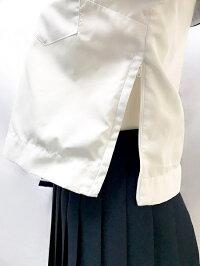wcs-07s春夏長袖かぶりセーラー服No.4919上下セットスカーフ付レディース白セーラーミニスカート