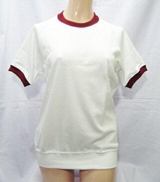 体操服 運動服 丸首シャツ wst-10b Galax ギャレックス G-845 クルーネック 半袖体操服 男女兼用 3L ホワイト エンジ 緑 青 花紺 濃紺 大きめサイズ