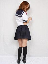 wcs-15aA体春夏半袖セーラー服上着のみ制服学生服