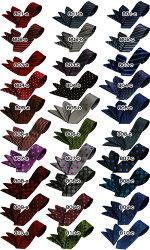 国産/シルク100%★60種類から選べるレギュラーネクタイ・チーフセット