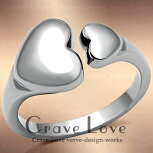 �դä���Ȥ����ݤߤβİ����ϡ��ȥ��ƥ�쥹���/����/Heart-stainless-Ring��Crave-LoveCostumeJewelryBijouxParisFrance��