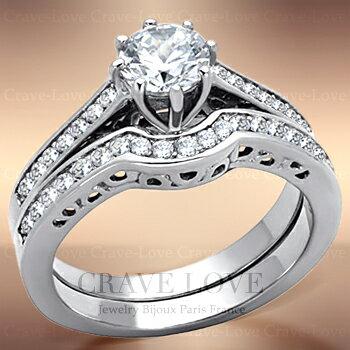 2本組重ねづけレディースステンレスセットリングst012連リング|女性指輪おしゃれファッションジュエリー大きいサイズもあります。トラベルジュエリー・結婚式・誕生日プレゼントにも・・【Crave-LoveJewelrybijouxParis】