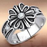 【メンズリング男の指輪メンズアクセサリー】メンズフローラルクリスタルシルバーステンレスリング男性指輪|ヴィンテージ風ユーロデザインアクセサリーファッションリングジュエリー大きいサイズもあります。