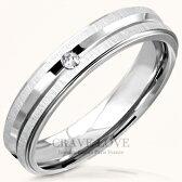 光沢のあるヘアライン加工シルバーステンレスリング指輪シンプルでおしゃれな一粒石レディースリングメンズリング女性男性ファッションリング大きいサイズもあります。普段使い、トラベルジュエリーにも..【Crave-LoveBijoux】