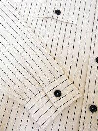 SUGARCANE[シュガーケーン]長袖ホワイトウォバッシュワークシャツSC27076