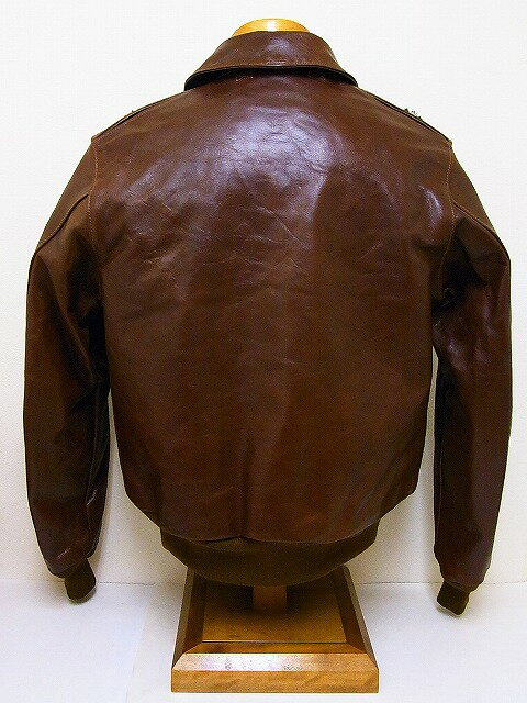 Buzz Rickson's[バズリクソンズ] A-2 ダグラス マッカーサー モデル 20周年 No.23380 ROUGH WEAR CLOTHING CO. BR80326 (S/BROWN)  代引き手数料無料 【RCP】