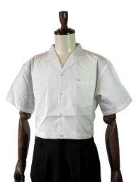 短ランオープンシャツ 変形学生服 半袖シャツ 半袖オープンシャツ サイド調節付き 48cm