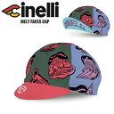 cinelli チネリ キャップ サイクルキャップ サイクリングキャップ MELT FACES CAP 帽子 自転車 ロードバイク