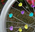 ブリヂストン スポークアクセサリー (ハート) 幼児車・子供自転車用 ( アクセサリー ) BRIDGESTONE SP-EM A487004 P5580