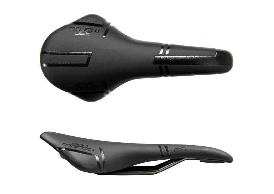 (SELLE SAN MARCO/セラサンマルコ)サドル CONCOR RACING NARROW BLACK(コンコール レーシング ブラック)(278LN013)