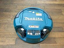 マキタ製ロボットクリーナーRC200DZ、バッテリー2個・充電器セット
