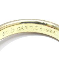 [飯能本店]Cartierカルティエモノストーンルビーリング#50スリーカラーYGイエローPGピンクWGホワイトゴールドラウンドカットDH42895【大黒屋質店出品】【】【送料無料】